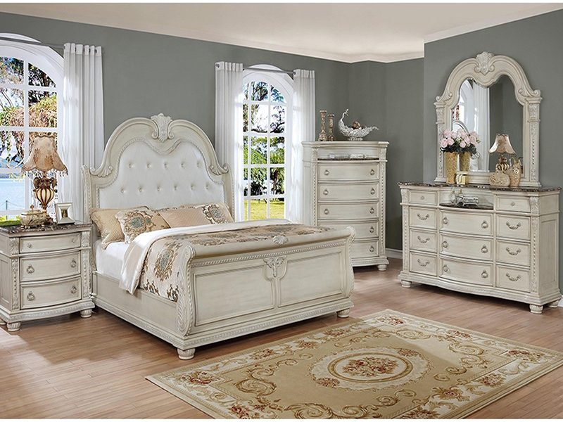 STANLEY WHITE KING BEDROOM 48 TRIỆU
