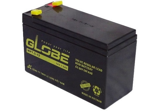 Tính năng nổi bật của ắc quy GLOBE WTZ6V (12V-6AH) chính hãng