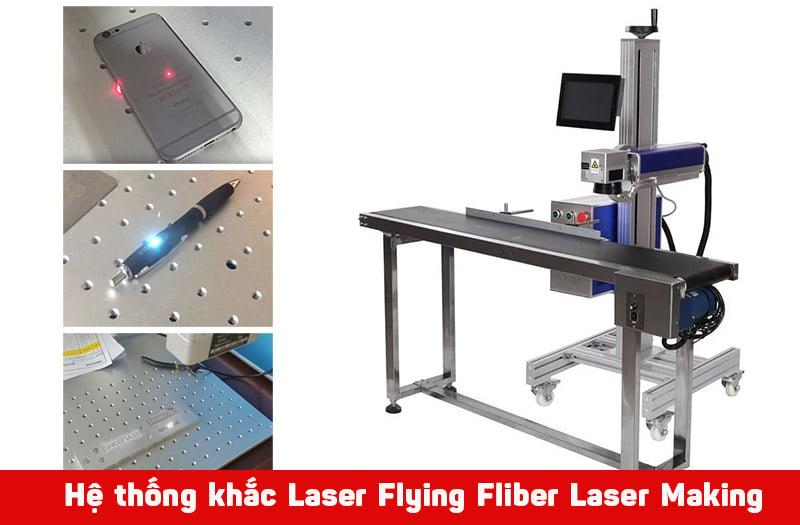 Vì sao nên dùng Hệ thống máy khắc laser kim loại mini Flying Fiber Laser Making System