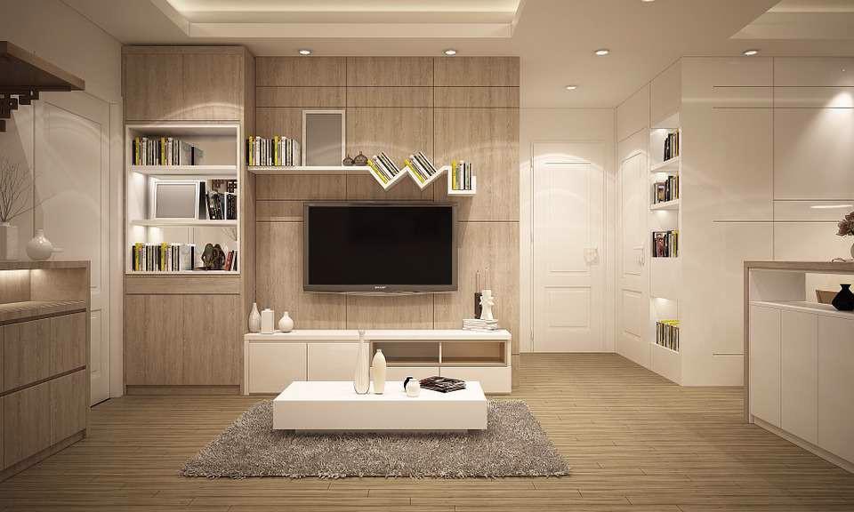 Chọn gạch ốp tường cho phòng khách