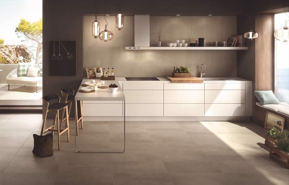 Gạch ốp tường 60x60 cm cho không gian bếp
