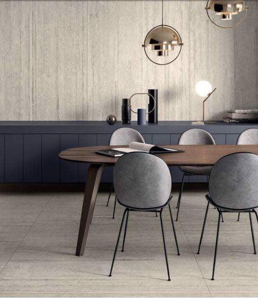 Kontinua có thể sử dụng cho cả sàn và tường nhà