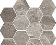 mosaico Esagonette mix grey