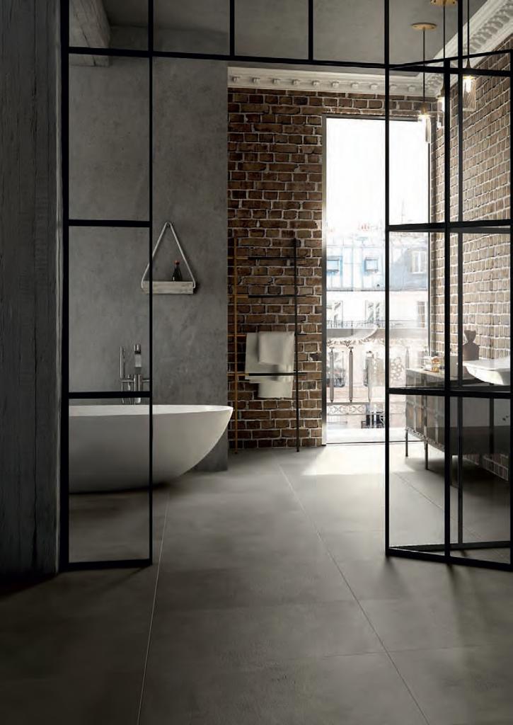 Mud bê tông là gam màu nguyên bản của bề mặt cement