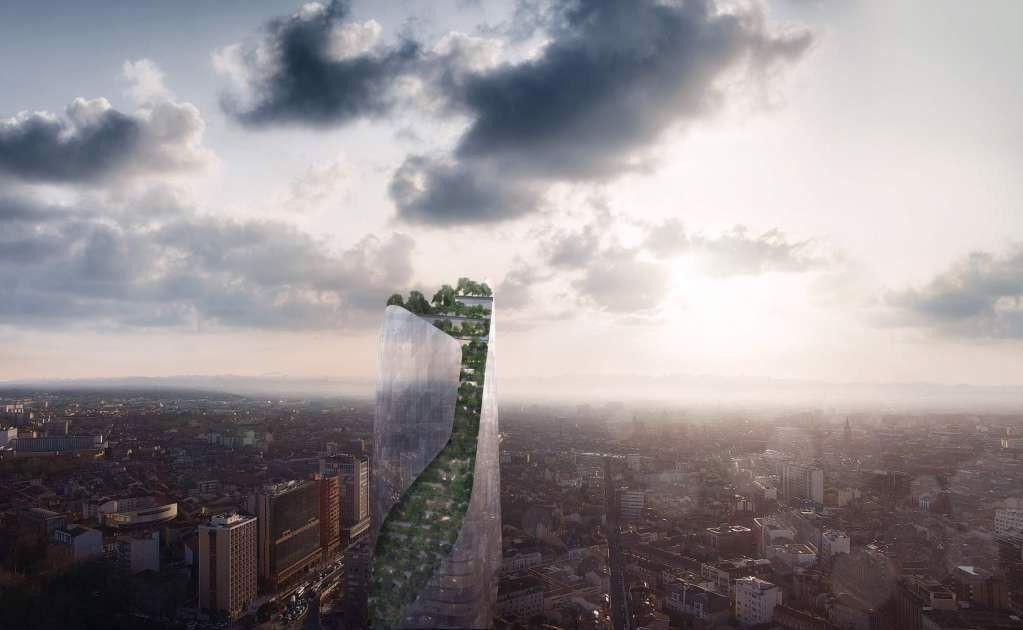 Occitanie Tower thực sự là dự án nổi bật nhất trong thành phố
