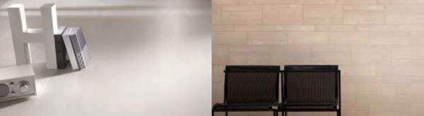 Sự kết hợp giữa gạch ốp lát và gạch trang trí