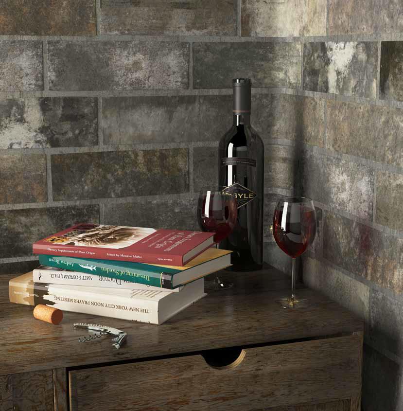 tái hiện hoài niệm nét cổ xưa từ các hầm rượu xây dựng bằng gạch nung