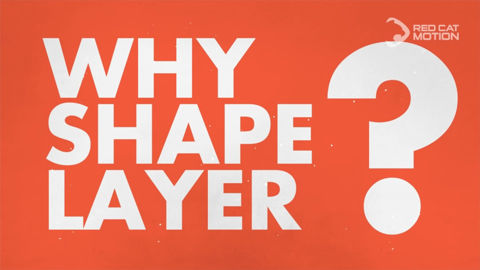 Shape Layer trong After Effects