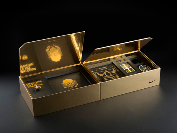 Luxury packaging design inside
