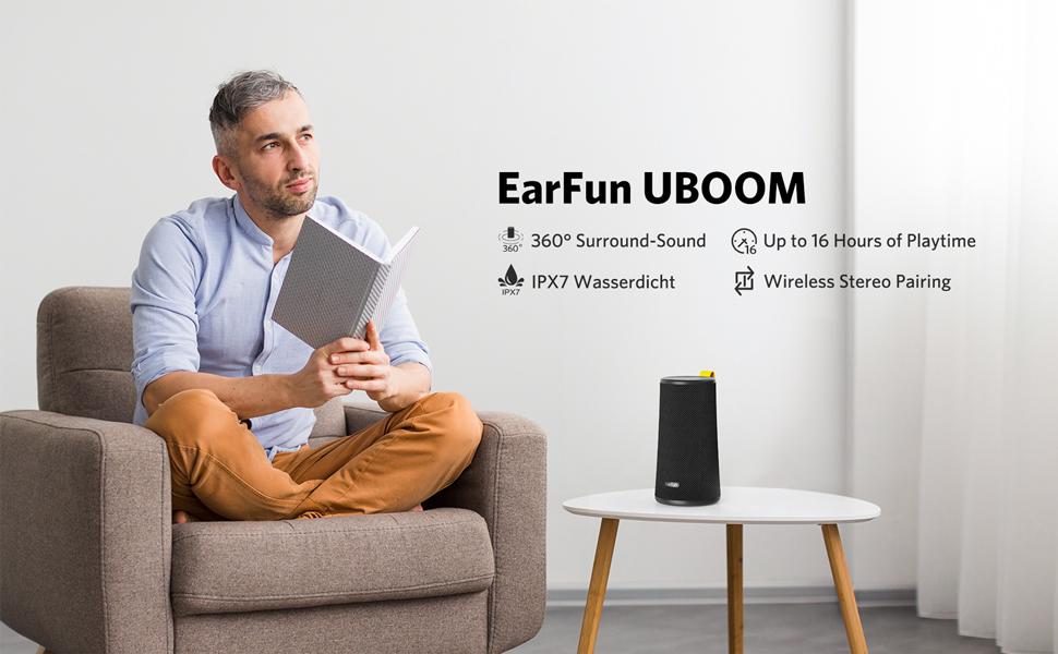 Loa di động 360 EarFun UBOOM