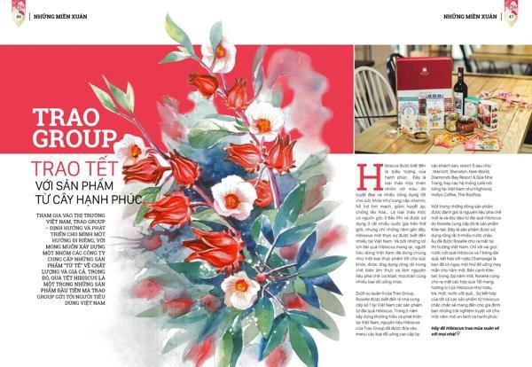 [Check-in Saigon Magazine] Trao Group – Celebrate The Tet Season With Products From The Tree Of Happiness