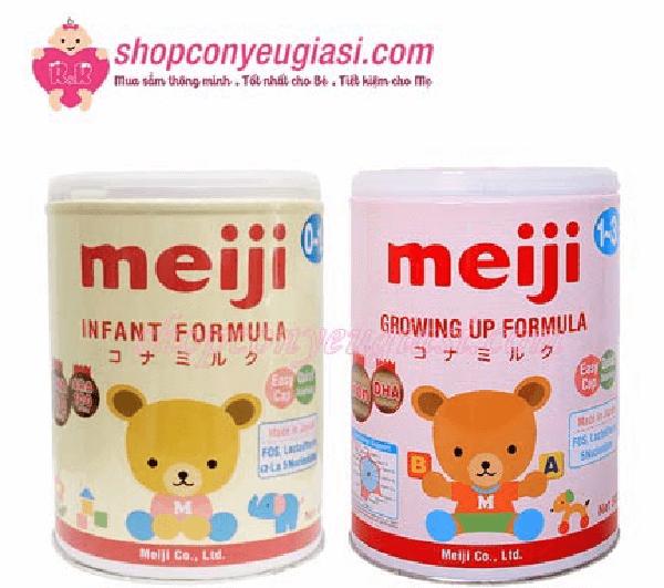 Hộp sữa Meiji số 0 (0-1 Tuổi) nhập khẩu - 800g