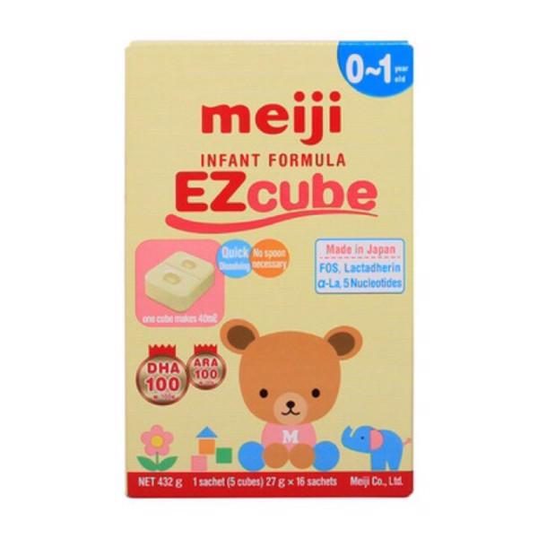 Sữa Meiji số 0 dành cho bé từ 0 đến 1 tuổi