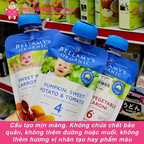 Hỗn Hợp Trái Cây Xay Nhuyễn Hữu Cơ Bellamy's Organic