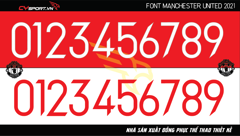FONT MANCHESTER UNITED 20/21 FREE DOWNLOAD