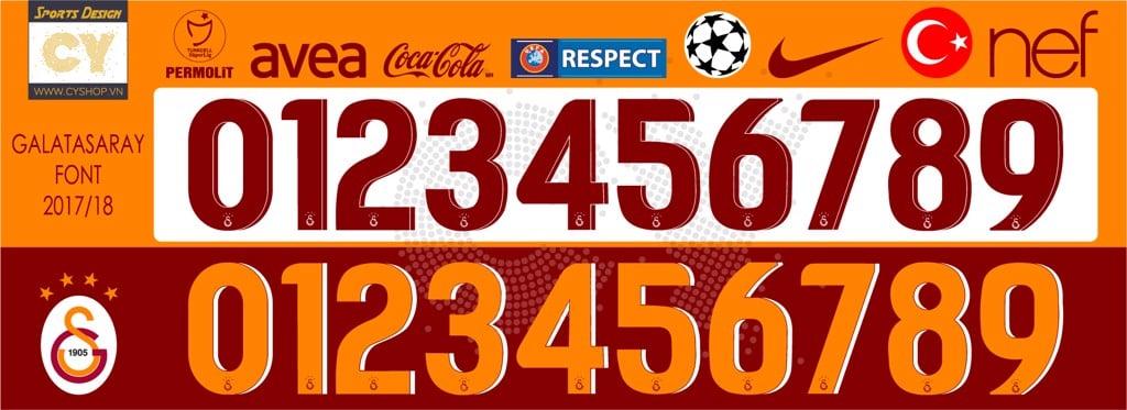 phông số áo bóng đá