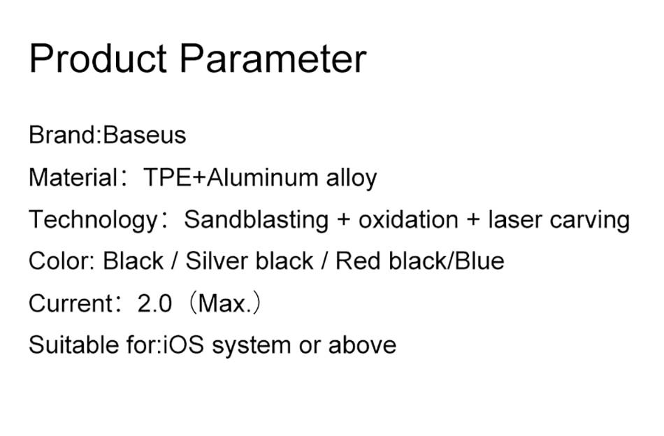 Bộ chia cổng Lightning 1 thành 2 Baseus L46 cho iPhone 7,8,X... - 11