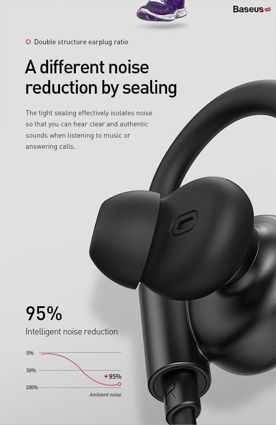 Tai nghe Bluetooth thể thao,chống ồn,chống nước Baseus Encok S17 Sport –  Baseus Việt Nam
