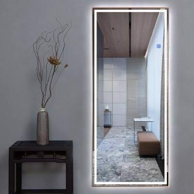 Gương treo tường đứng hình chữ nhật 600x1800 dầy 5mm tráng bạc