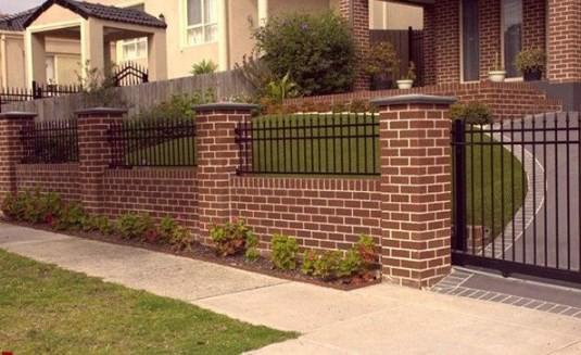 Vì sao nên xây hàng rào bằng gạch?