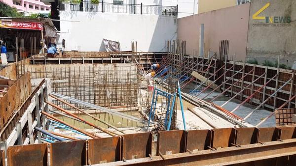 thi công vách tầng hầm xây nhà trọn gói biệt thự chú Hào Quận Bình Thạnh 3