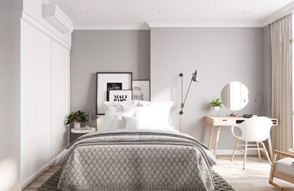 thiết kế nhà chung cư hiện đại trắng tinh khôi 7