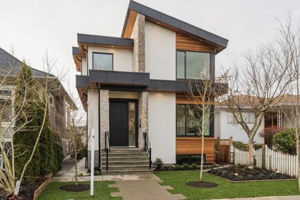 thiết kế nhà tối giản 1