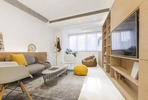 Thiết kế nội thất căn hộ 48m2 2