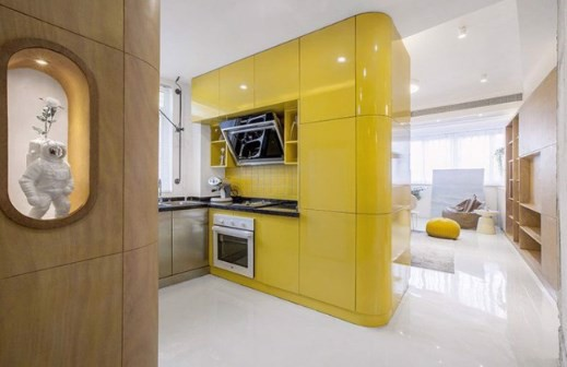 Thiết kế nội thất căn hộ 48m2 5