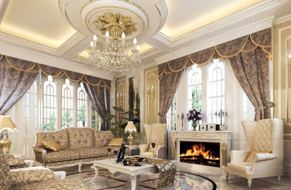Thiết kế nội thất phòng khách đẹp 4
