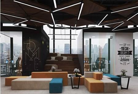 Thiết kế nội thất văn phòng 2