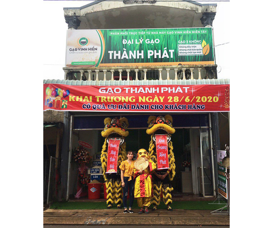 Đại lý gạo Vinh Hiển mới khu vực Long Khánh - Đồng Nai