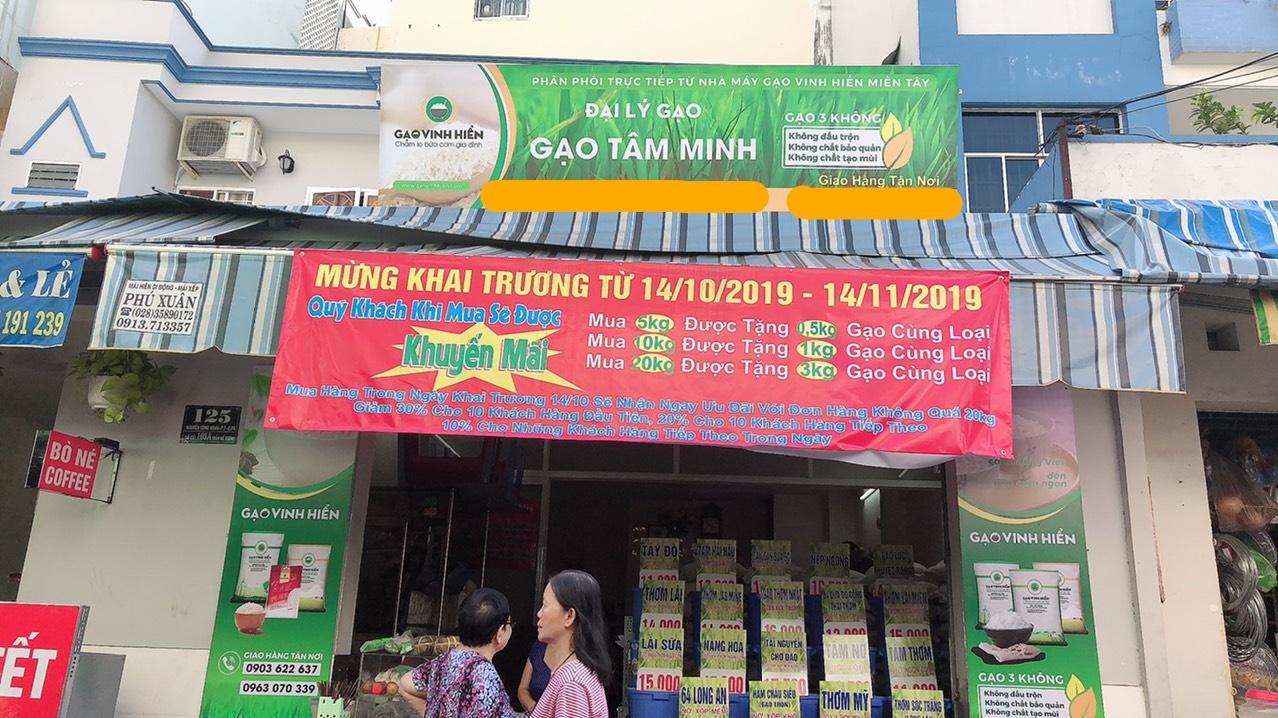 Đại lý gạo Tâm Minh - Gạo Vinh Hiển