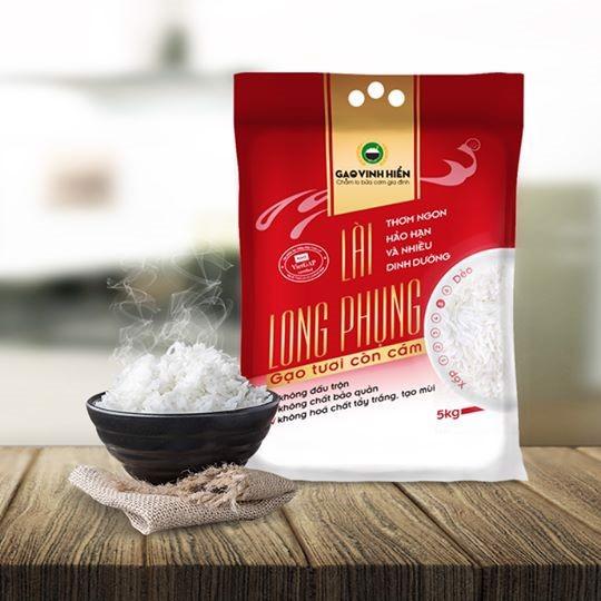 Gạo đặc sản còn cám Lài Long Phụng