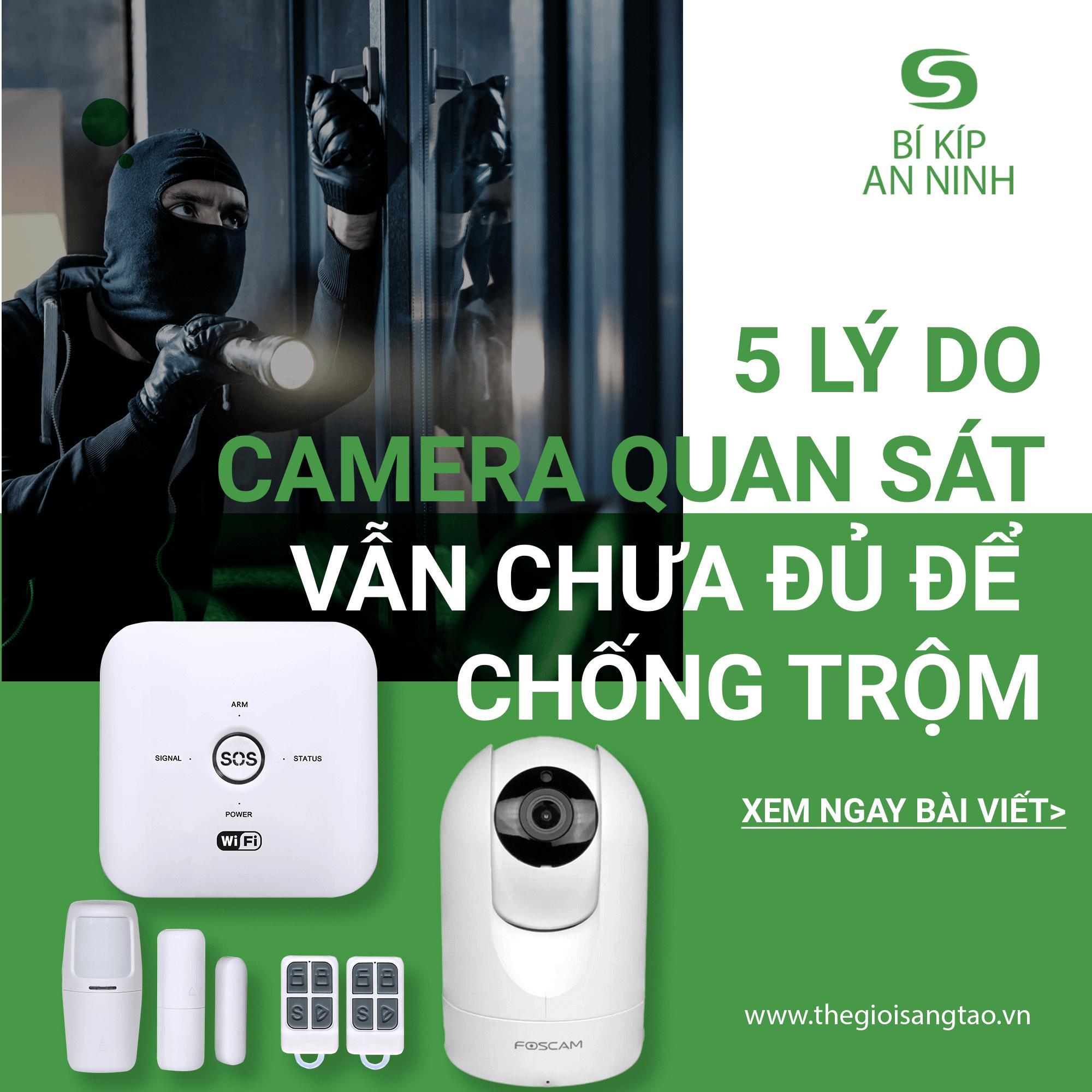 5 lý do tại sao chỉ lắp camera an ninh để chống trộm là chưa đủ