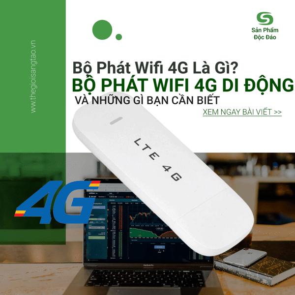 Bộ phát Wifi 4G là gì? Làm sao phân biệt giữa router Wifi, Wifi Hotspot và USB Modem?