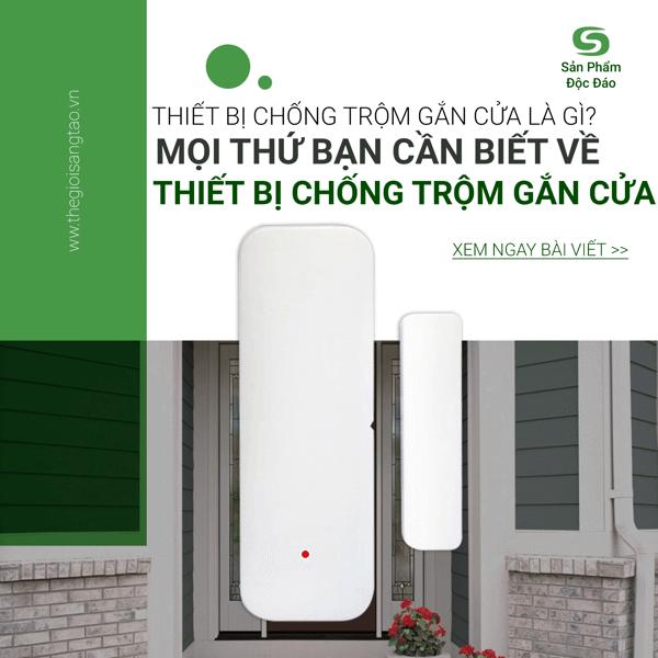 Thiết bị chống trộm gắn cửa là gì? Mọi thứ bạn cần biết về thiết bị báo động chống trộm gắn cửa