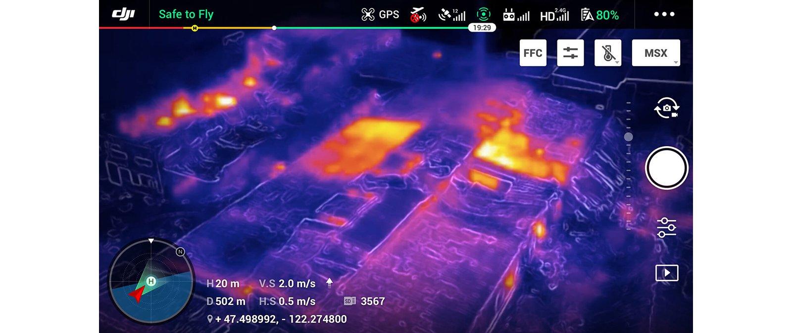 FLIR MSX :kết hợp camera hình ảnh và camera nhiệt trong thời gian thực