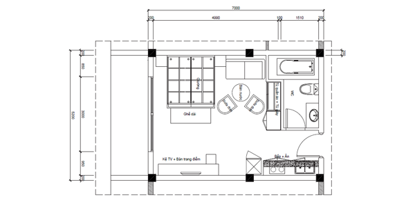 Aloha condotel căn hộ 32m2