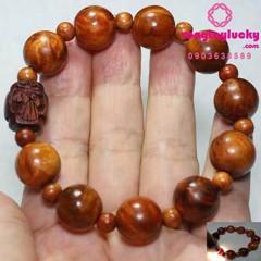 vòng tay gỗ huyết long, vòng tay gỗ phong thủy chuỗi hạt 108 gỗ huyết long nu, gỗ huyết rồng, công dụng của gỗ huyết long