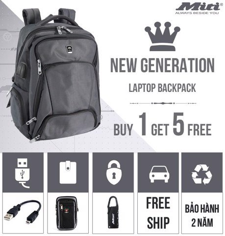 LAPTOP BACKPACK COLLECTION - NEW GENERATION!