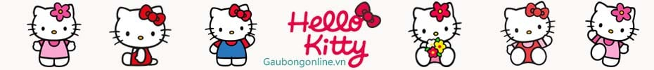 gấu bông hello kitty