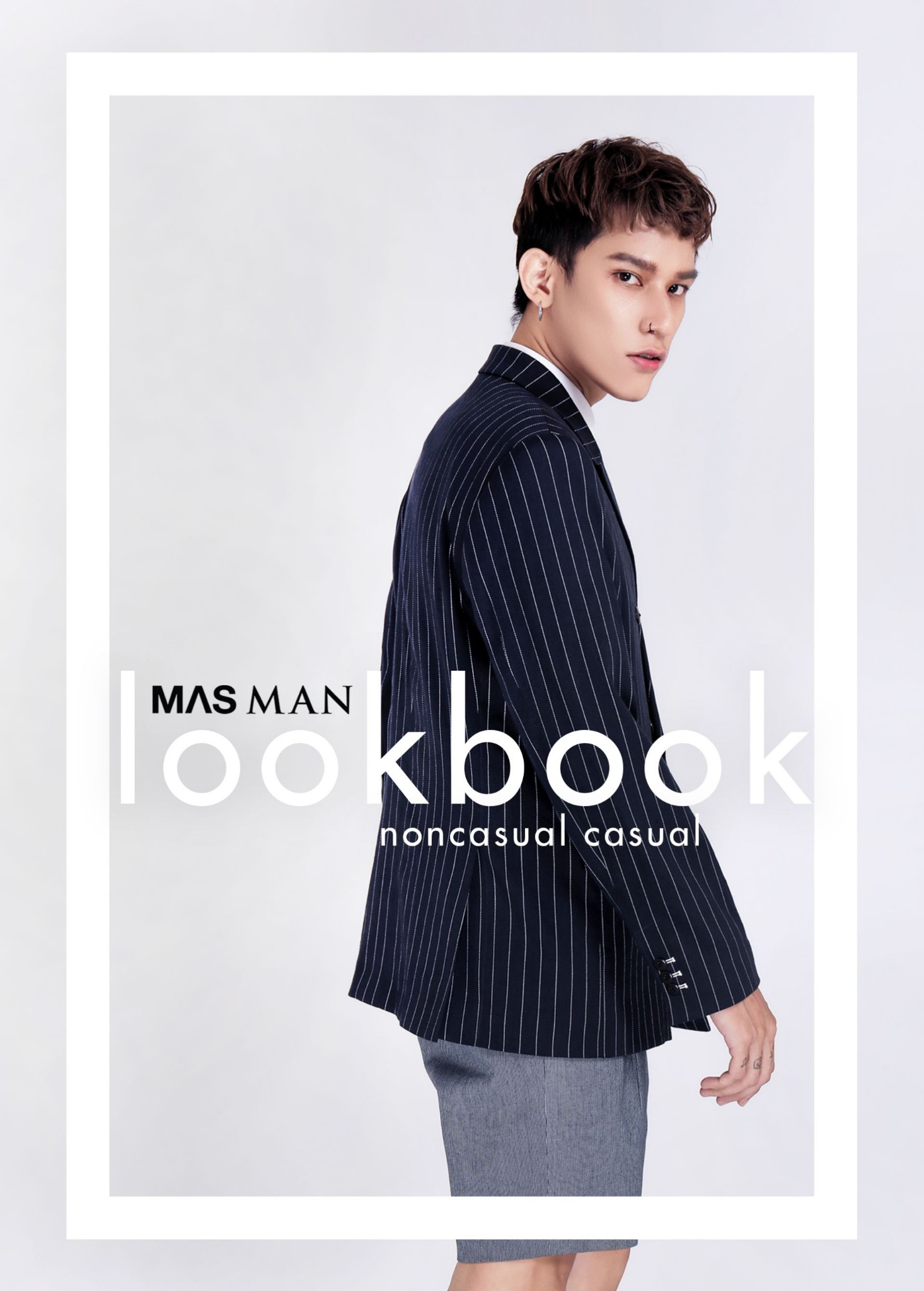 MAS MAN Summer 2018 Lookbook - Noncasual casual