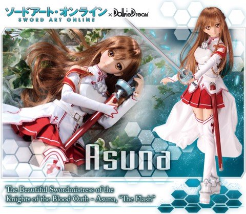 [HOT] Khui hộp DollfIe Dream Asuna - Sword Art Online