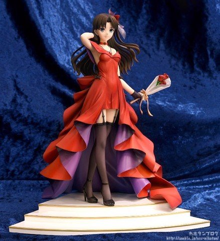 Giới thiệu Rin Tohsaka ~15th Celebration Dress Ver.~