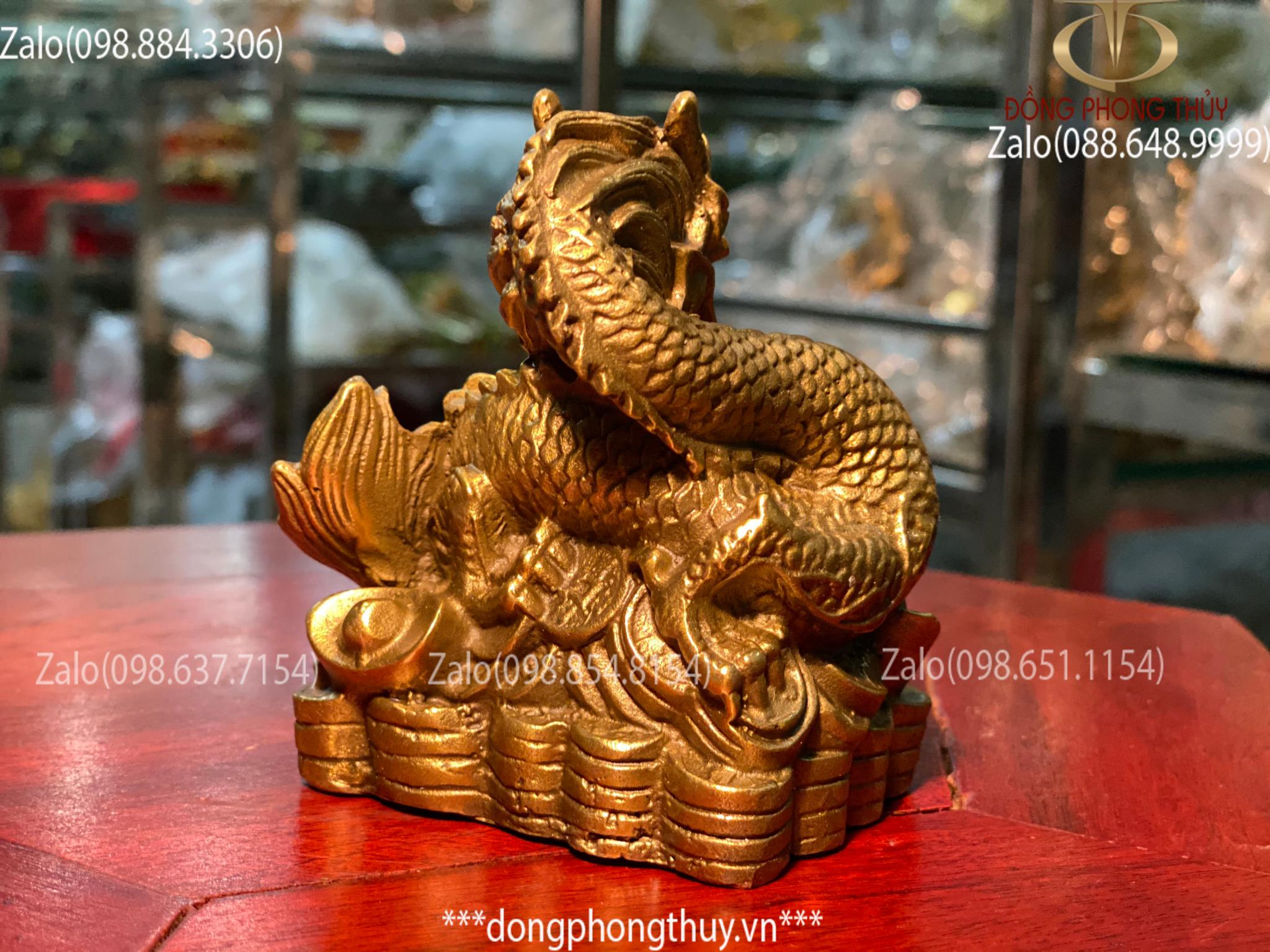 tượng rồng bằng đồng