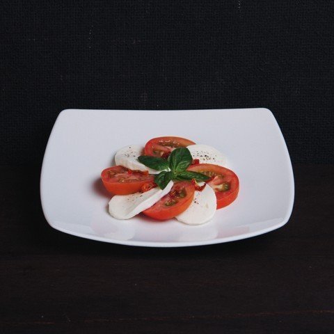 How to make a Caprese salad at home with Pizza 4P's Fresh Mozzarella