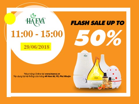 CTKM SALE UP TO 50% - 1 Ngày Duy Nhất 29/06