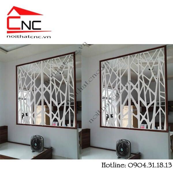 Các mẫu vách ngăn trang trí đẹp giữa phòng khách và phòng bếp ở tphcm