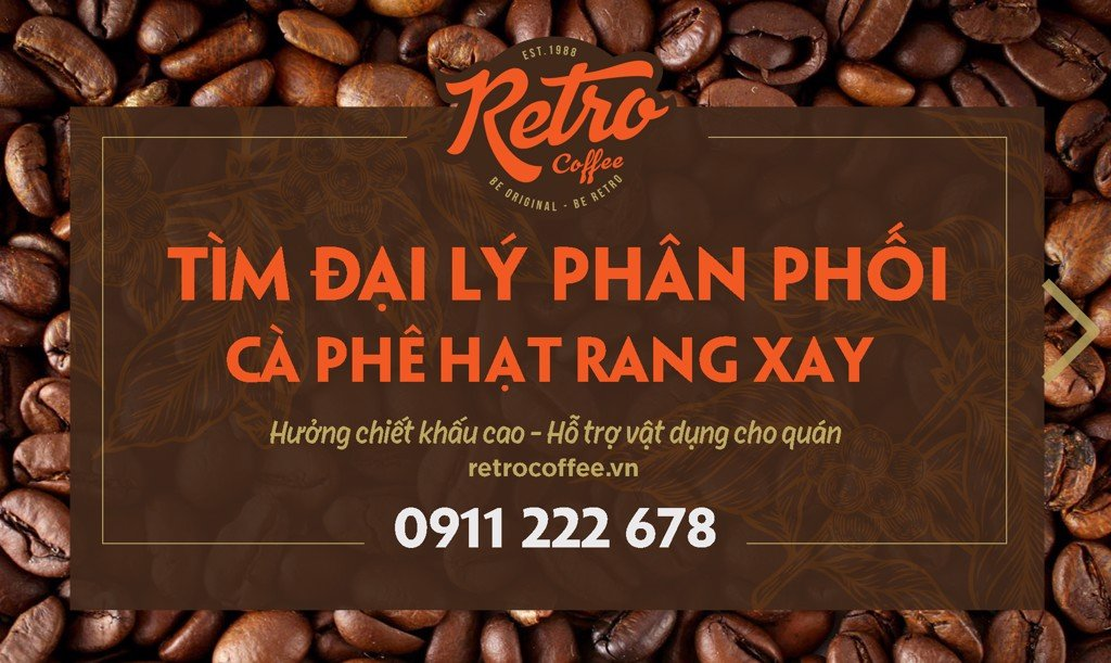 cafe nguyen chat rang xay